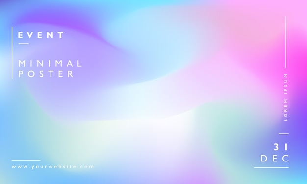 Colorful modern blurred background Premium Vector