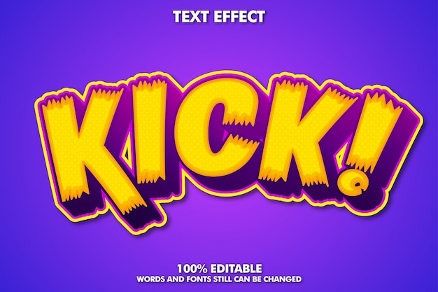 Colorful modern text style Free Vector