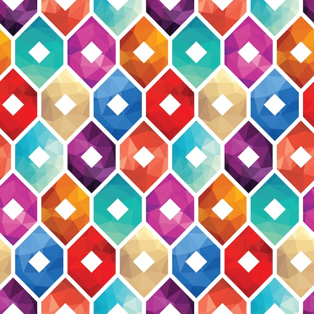 Colorful Pattern Background Vector Free Download