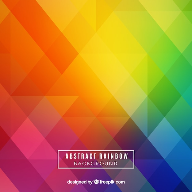 Colorful Rainbow Background Vector Free Download