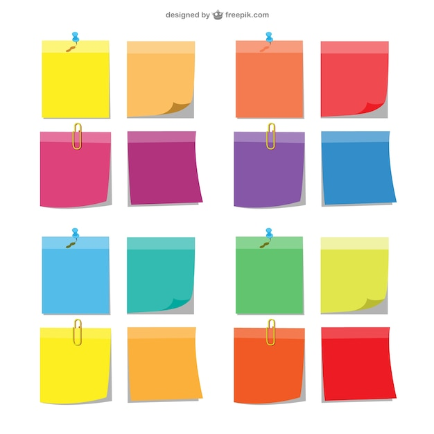 Sticky Notes Vectors Photos And Psd Files  Free Download