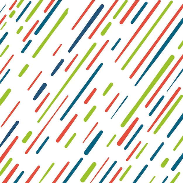 Colorful stripes pattern background Free Vector