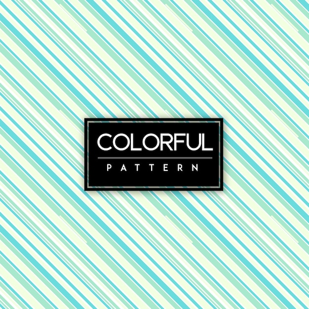 Colorful Stripes Seamless Pattern Background Free Vector