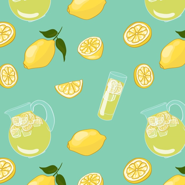 Colorful summer drink Free Vector