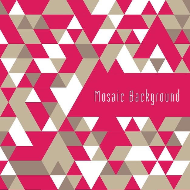 Colorful triangular shape geometric background Free Vector