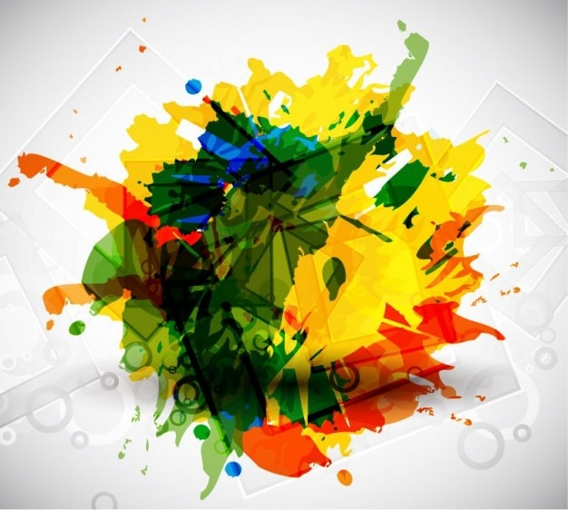 Colorful vector art Free Vector