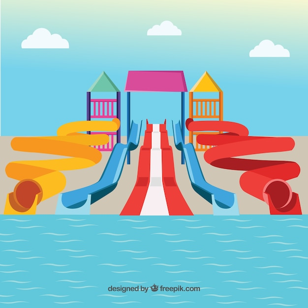 Water Slides Vectors, Photos and PSD files | Free Download