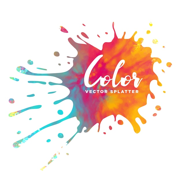 Colorful Watercolor Splash Background Kid Education Stock ...  Colorful Watercolor Splash
