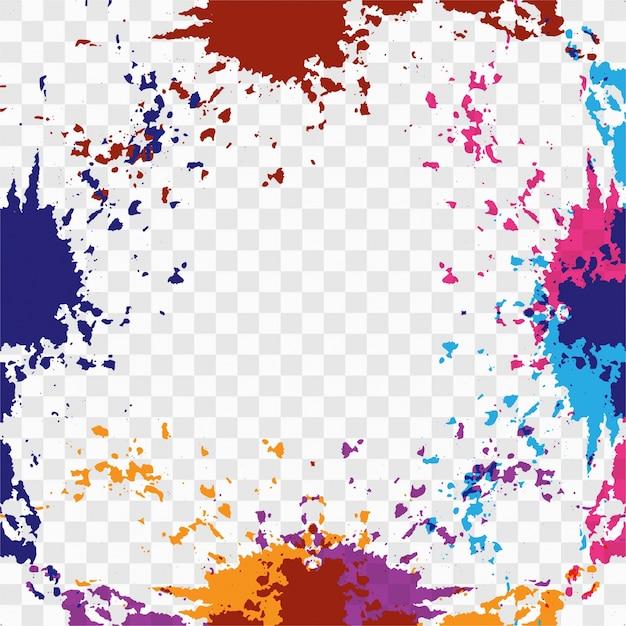 Colorful watercolor splash background Vector   Free Download  Colorful Watercolor Splash
