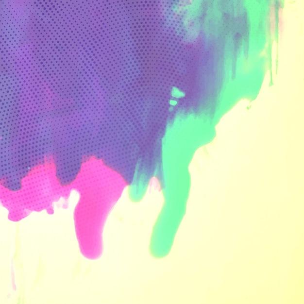 Colorful watercolor splash   Free Vector  Colorful Watercolor Splash