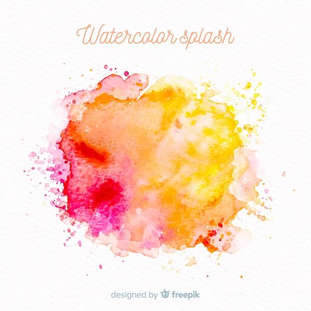 Elegant colorful splash watercolor background - Download ...  Colorful Watercolor Splash