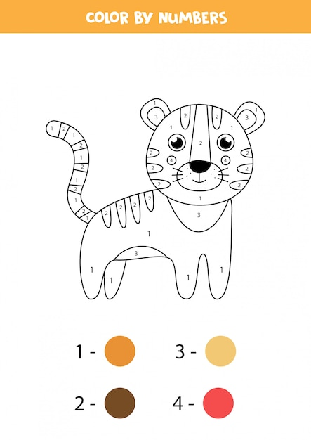 Free Cute Baby Tiger Coloring Pages, Download Free Clip Art, Free ...   885x626
