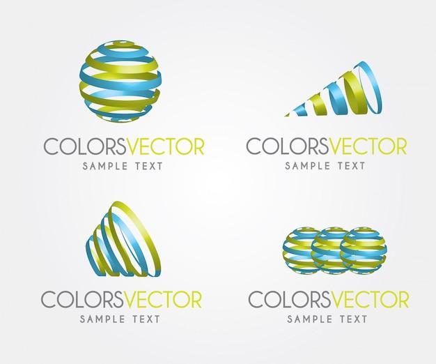 Colors vector Premium Vector