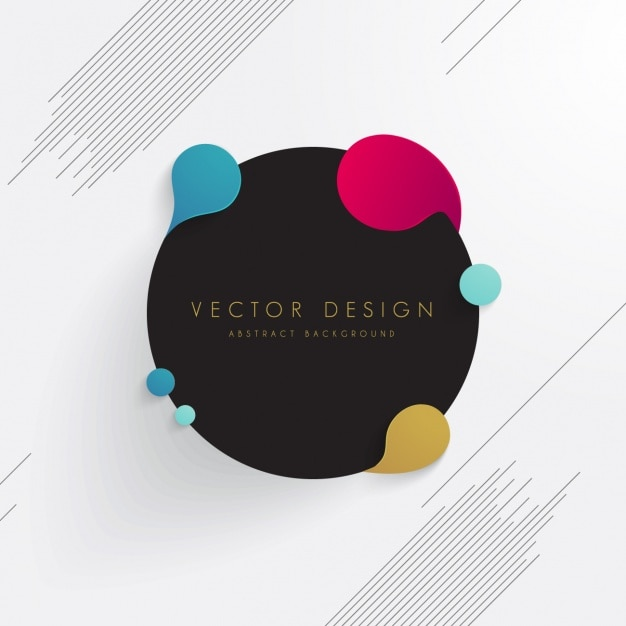 Coloured abstract background Free Vector