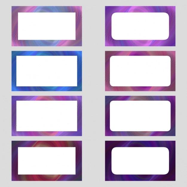 download vector coloured frames collection vectorpicker