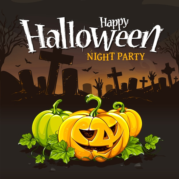 coloured halloween background design premium vector - Halloween Design