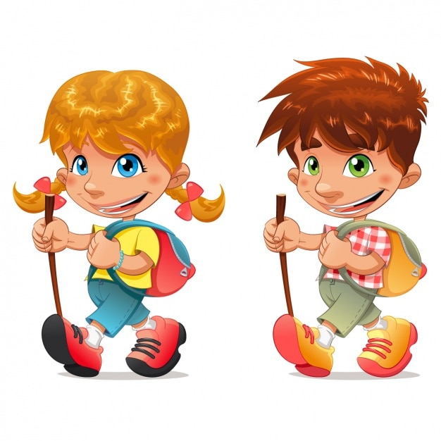 Coloured kids design Vector | Free Download