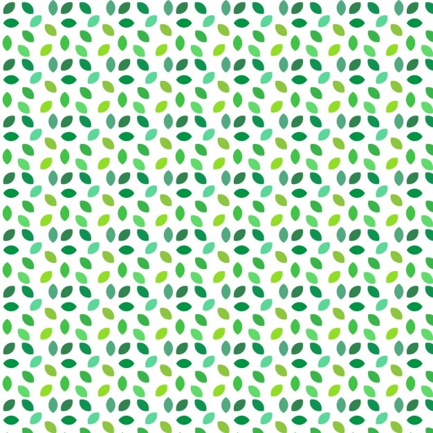 Coloured leaves pattern design