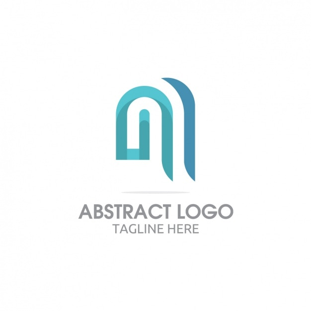 Coloured logo template design Free Vector
