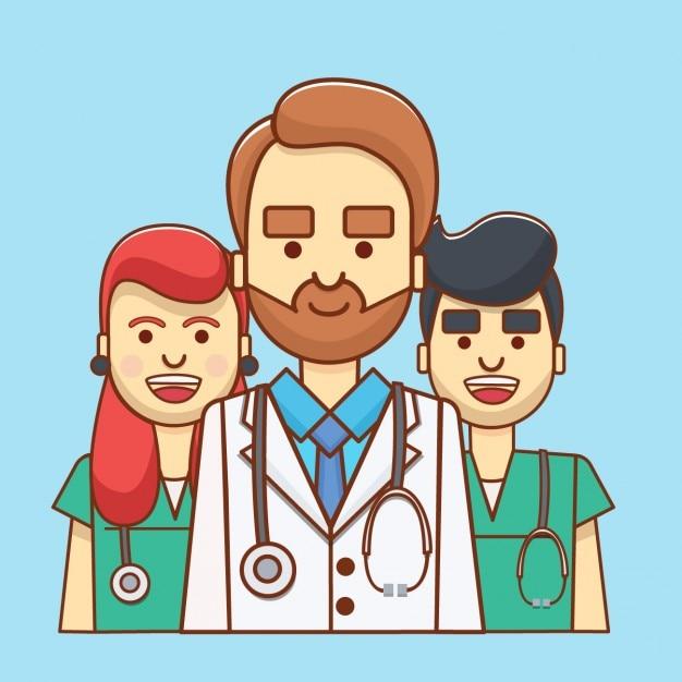 Coloured medical avatar