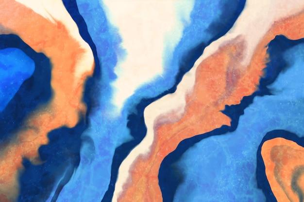 カラフルなアクリル塗装壁紙 無料ベクター