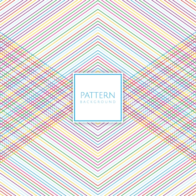 Colourful pattern background Free Vector