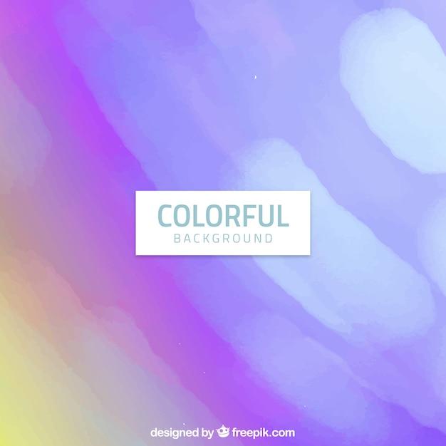 Colourful watercolour background in purple tones