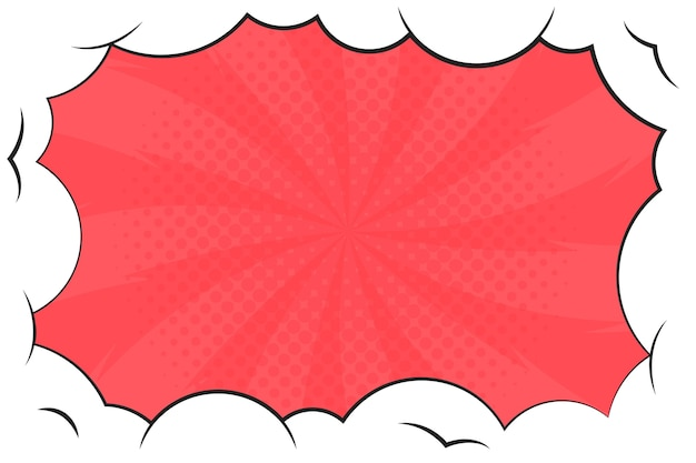 Comic style wallpaper Free Vector