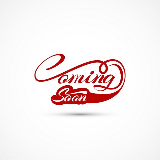 Coming soon Background Free Vector