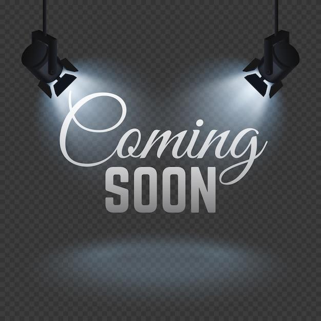 Coming soon concept Premium Vector
