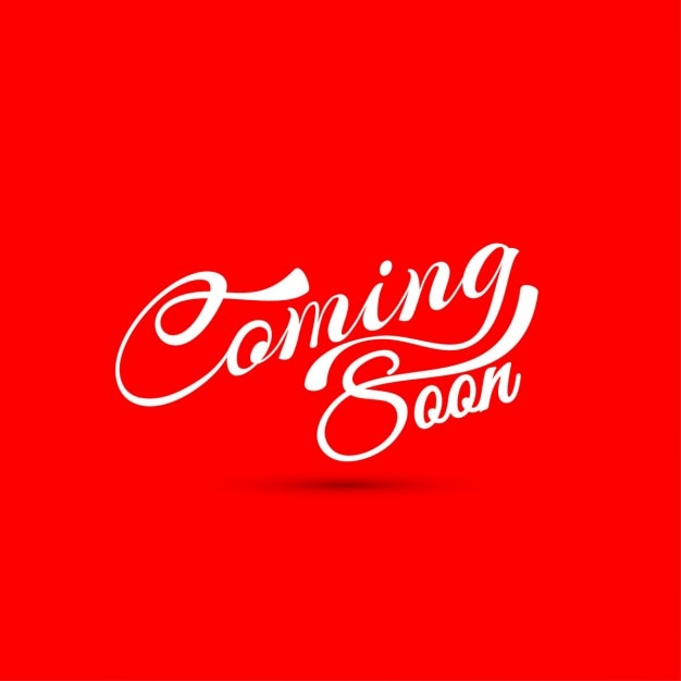 coming soon on a red background_1055 1266