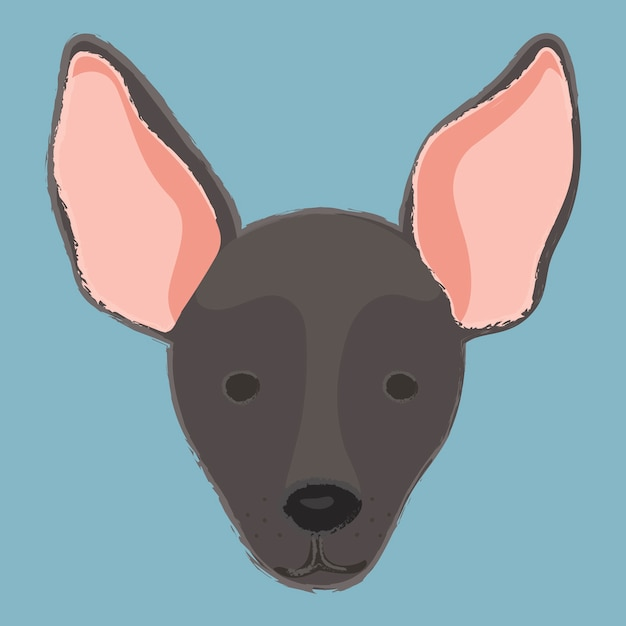 Companion dog lovers cuddly dog cute puppies Free Vector