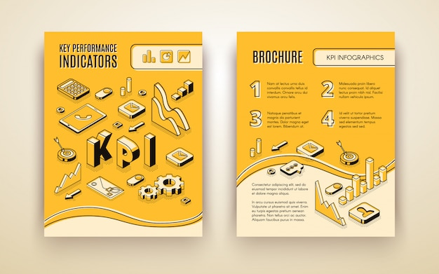 Company annual report Free Vector