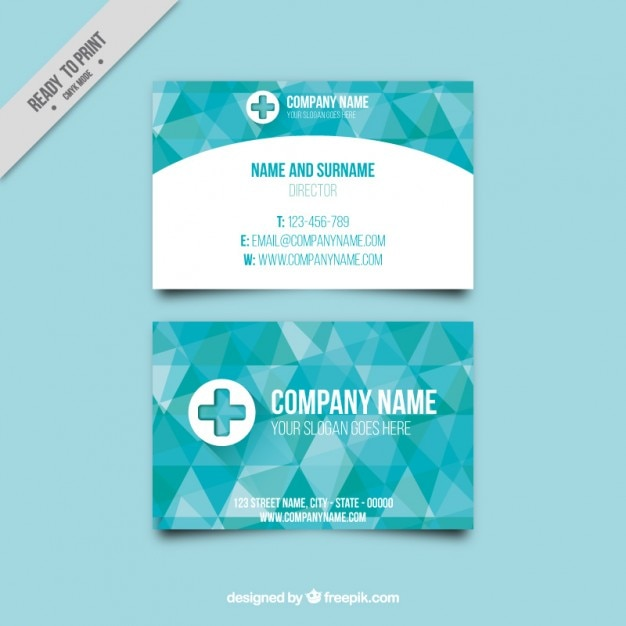 pany director business card Vector