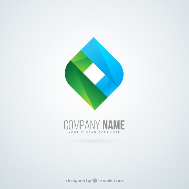 Company logo in abstract style