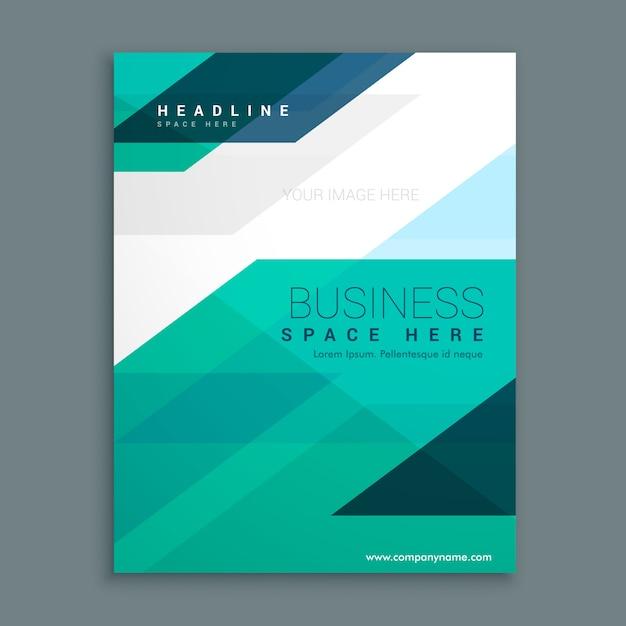 Company Magazine Cover Page Brochure Design Premium Vector