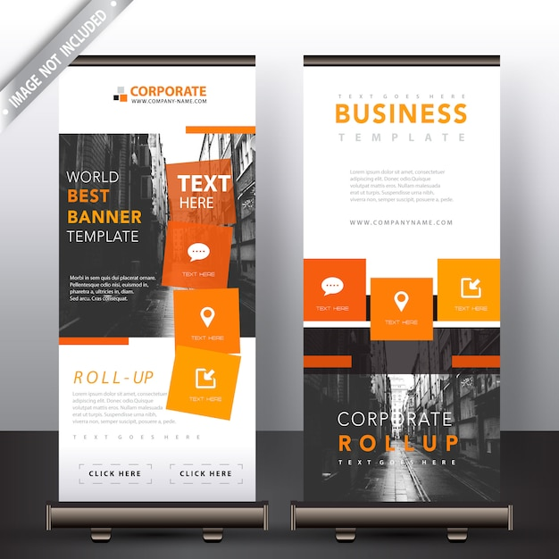 Roll Up Banner Free Vectors Stock Photos Psd