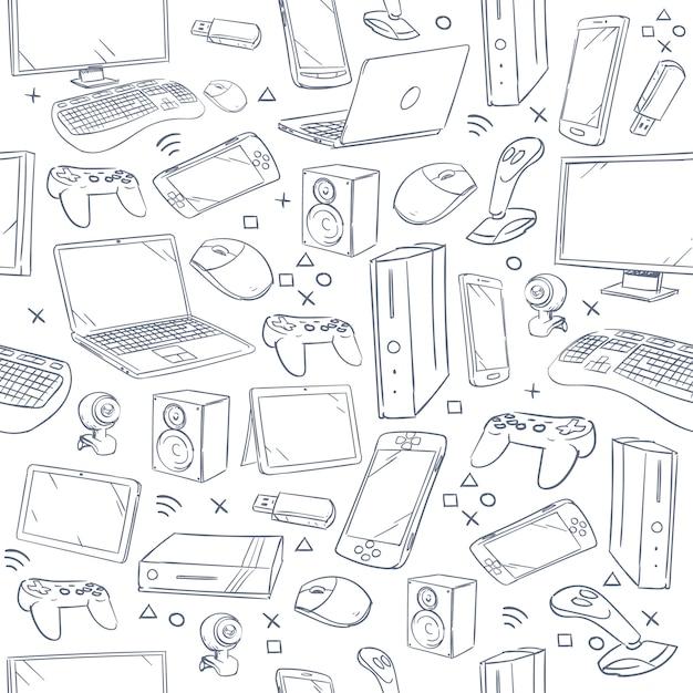Computer game Premium Vector
