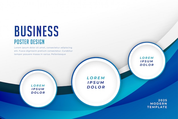 Concept business background template design Free Vector