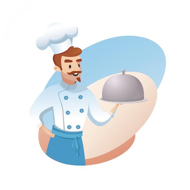 レストラン事業の概念図 無料ベクター