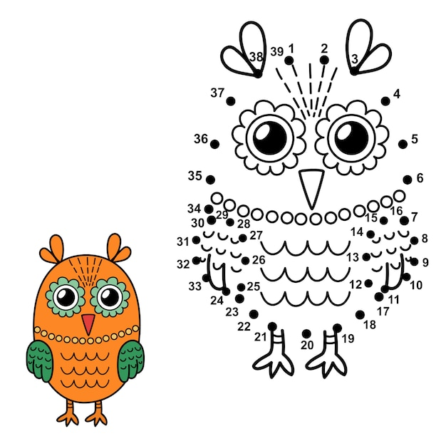 Owl Pictures To Color
