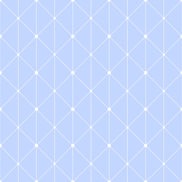 Connected dots seamless pattern Premium Vector