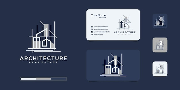 Construction , builder , building ,gold color ,banner and business card , logo  inspiration Premium Vector