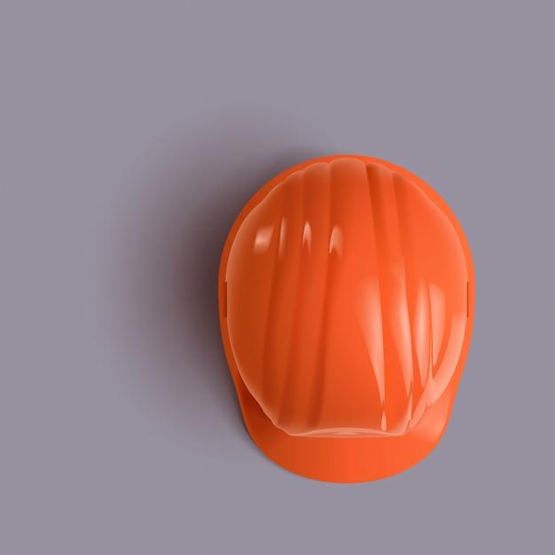 Строительный шлем вверх Premium векторы