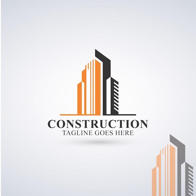 Construction logo Premium Vector
