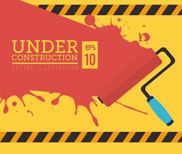 Construction tools Premium Vector