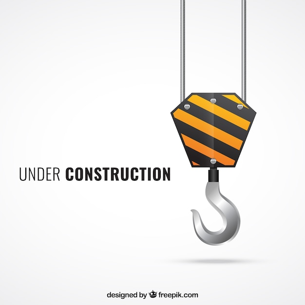 Under construction Free Vector