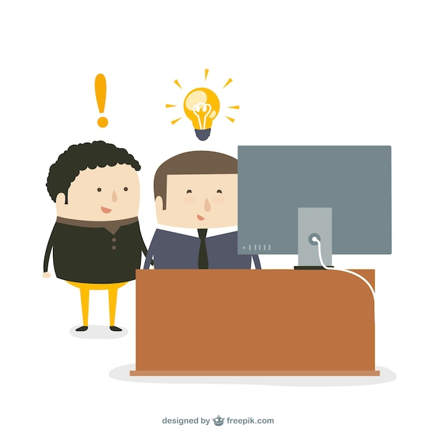 Consulting service ideas Free Vector