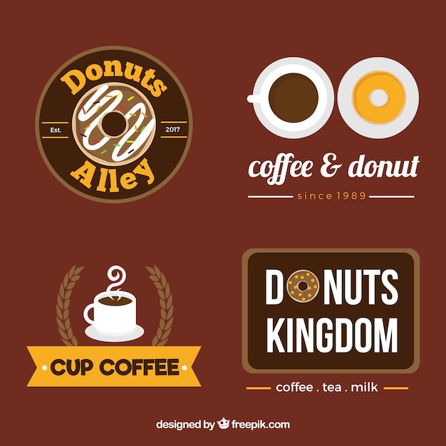 Cool collection of coffee shop logos