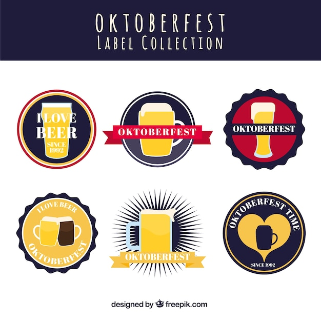 Cool collection of oktoberfest labels